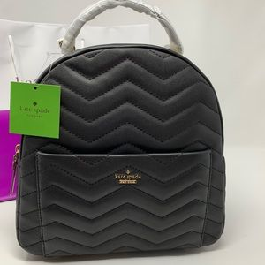 Kate spade Reese park black Ethel backpack NWT